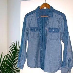 Levi's chambray denim shirt